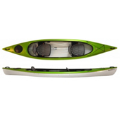 Hurricane Santee 140 T Tandem Kayak 2016, Green, medium