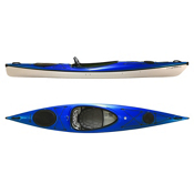 Hurricane Excursion 128 Touring Kayak 2013, Blue, medium
