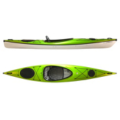 Hurricane Excursion 128 Touring Kayak 2013, Wasabi Green, medium