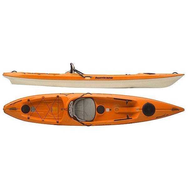 Hurricane Skimmer 128 Sit On Top Kayak 2017, Mango, 600