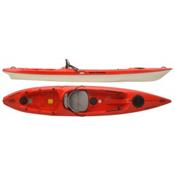Hurricane Skimmer 128 Sit On Top Kayak 2017, Red, medium