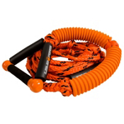 Liquid Force Surf Rope Suede Wakesurf Rope 2013, Orange-Black, medium