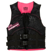 Liquid Force Heartbreaker Neo Womens Life Jacket 2013, Black-Pink, medium