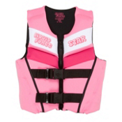 Liquid Force Star Neo Junior Life Vest, Pink, medium