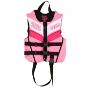 Liquid Force Star Neo Toddler Life Vest, Pink, medium