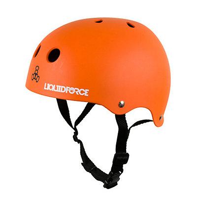 Liquid Force Icon Watersports Helmet, Black-Green, viewer