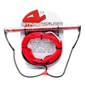 Straight Line Team Handle W/Dyneema Wakeboard Rope 2014, , medium