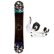 SLQ Twin Rocker Snowboard and Binding Package 2013, , medium