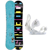 Ride Crush Snowboard and Binding Package 2013, 152cm, medium