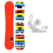 Ride Crush Snowboard and Binding Package 2013, 155cm, medium