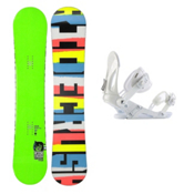 Ride Crush Wide Snowboard and Binding Package 2013, 153cm Wide, medium