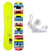 Ride Crush Wide Snowboard and Binding Package 2013, 156cm Wide, medium