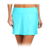 Athena Heavenly Skirt Bathing Suit Cover Up, Aqua, medium