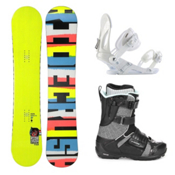 Ride Crush Complete Snowboard Package 2013, 147cm, medium