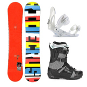 Ride Crush Complete Snowboard Package 2013, 155cm, medium