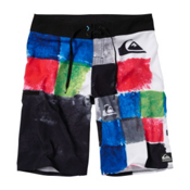 Quiksilver Plasma Board Shorts, White, medium