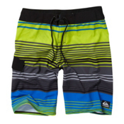 Quiksilver What It Is Board Shorts, Lime Green, medium