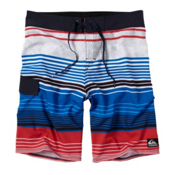 Quiksilver What It Is Board Shorts, White, medium