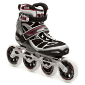 Rollerblade Tempest 100 Womens Inline Skates, Black-Purple, medium