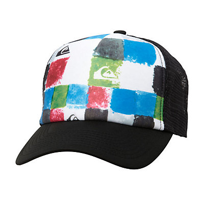 Quiksilver Boards Hat, Black, large