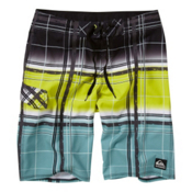 Quiksilver Cypher Wonderland Board Shorts, Lime Green, medium