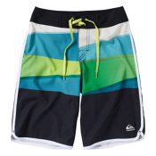 Quiksilver Repel Board Shorts, Lime Green, medium