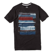 Quiksilver Cut Loose T-Shirt, Dark Charcoal, medium
