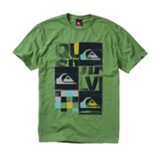 Quiksilver X Ray T-Shirt, Gecko, medium