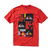 Quiksilver X Ray T-Shirt, Chili Pepper, medium