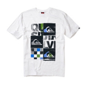 Quiksilver X Ray T-Shirt, White, medium