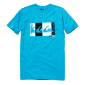 Quiksilver Bold T-Shirt, Neon Blue, medium