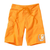 Quiksilver Smashing Boys Bathing Suit, Hot Orange, medium