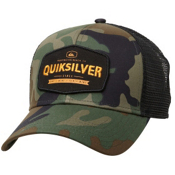 Quiksilver Please Hold Hat, Camo, medium