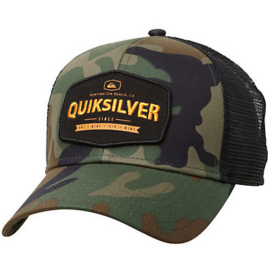 Quiksilver Please Hold Hat, Camo, viewer