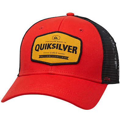 Quiksilver Please Hold Hat, Vintage Red, viewer