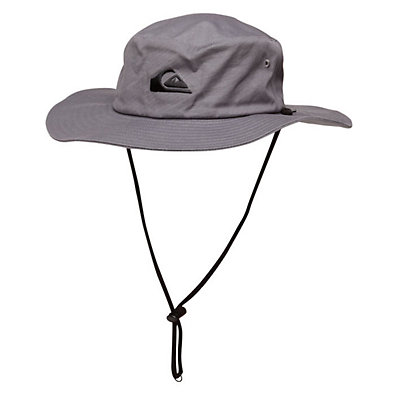 Quiksilver Bushmaster Hat, Gunmetal, viewer