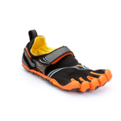 Vibram FiveFingers Komodosport Mens Athletic Shoes, Orange-Grey, medium