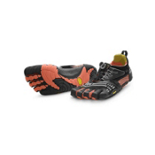 Vibram FiveFingers Komodosport LS Womens Athletic Shoes, Black-Coral, medium