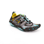 Vibram FiveFingers Treksport Sandal Womens Athletic Shoes, Aqua-Black, medium