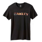 Oakley Boardwalk View T-Shirt, Jet Black, medium