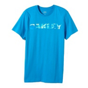 Oakley Boardwalk View T-Shirt, Pacific Blue, medium