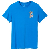 Oakley Factory Pilot T-Shirt, Pacific Blue, medium