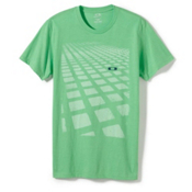 Oakley Blocks on Blocks T-Shirt, Island Green, medium