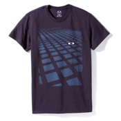 Oakley Blocks on Blocks T-Shirt, Royal Purple, medium