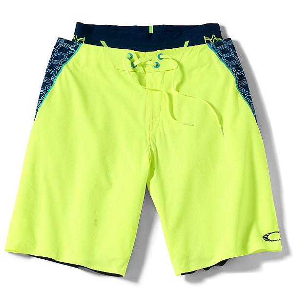 Oakley Blade III Mens Board Shorts, Neon Yellow, 600