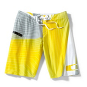 Oakley Sea Skater Board Shorts, Enamel Yellow, medium