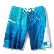Oakley Sea Skater Board Shorts, Pacific Blue, medium