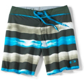 Oakley Crashing Wave Board Shorts, Kelp Green, medium