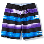 Oakley Crashing Wave Board Shorts, Jet Black, medium