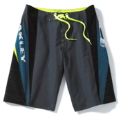 Oakley Gnarly Wave Board Shorts, Shadow, medium